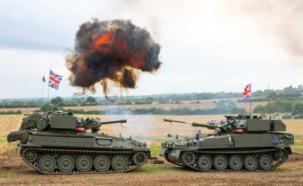 Pic Tanks in action