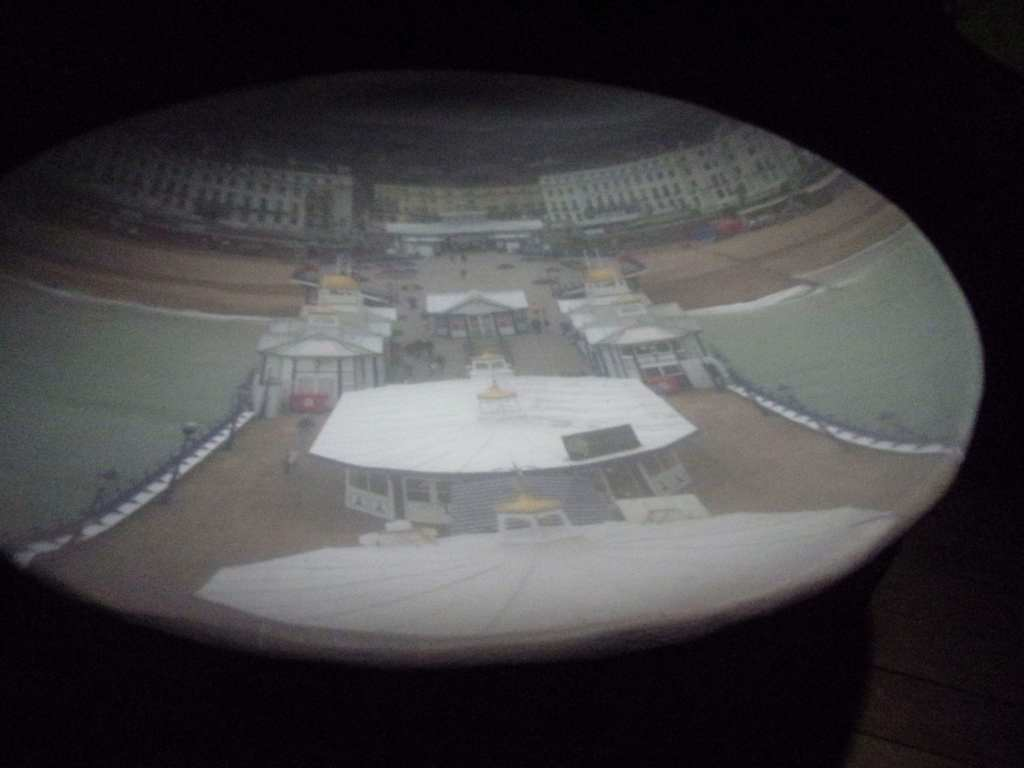 The view on the dish