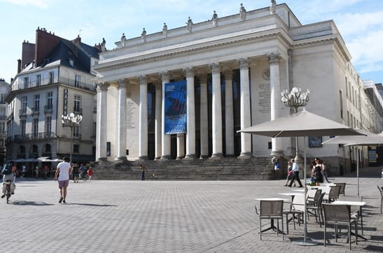 Nantes theatre on Place Graslin