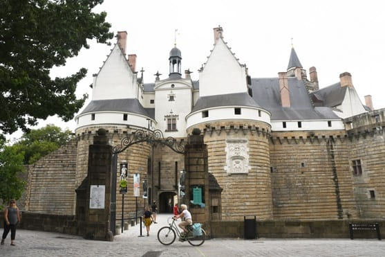 Main gate of Nantes ducal castle