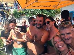 MalDia Salvini has a populist backing and loves to pose for selfies