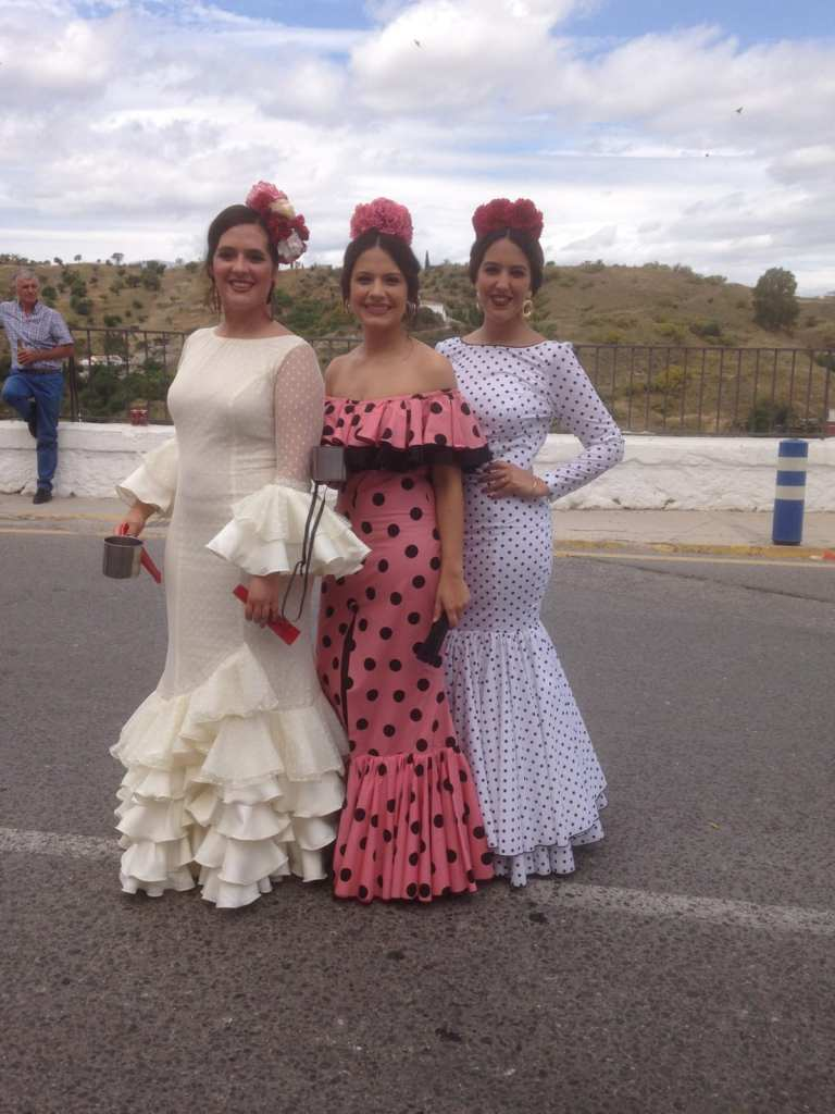 Pic Dressed in traditional style for the Romeria festival Photo courtesy of Dave and Karen Spicer