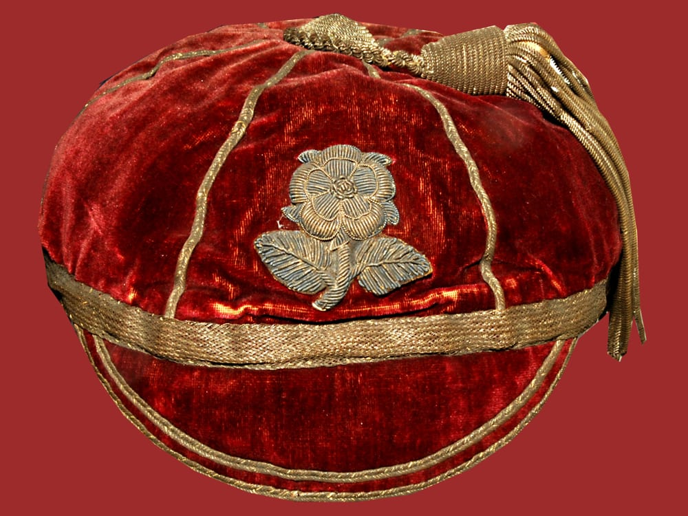 Pic Early Rugby Football cap