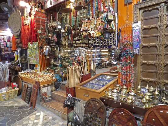 Shopping in Mutrah souk is on the to do list