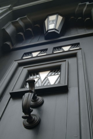 Pic Derngate Door closeup