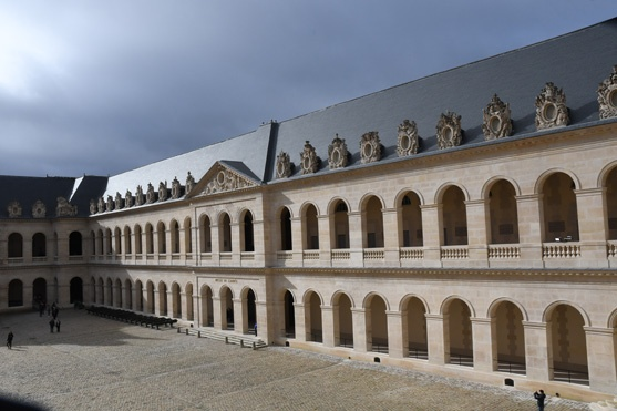 The Invalides Courtyard of Honour jpg