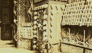 MalDia The Chapel made of skeletal bones