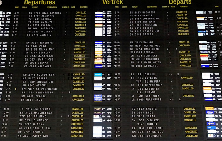 Going Nowhere on the departure board