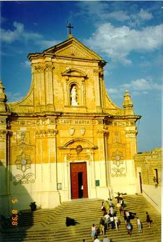 MalDia Gozo Cathedral dedicated to Our Lady