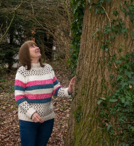 Pic A woodland walk for health and wellbeing