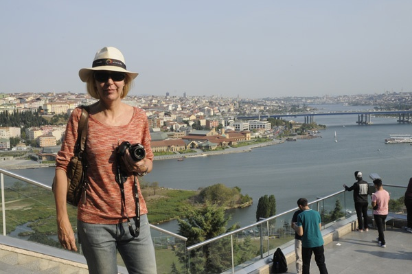 View of Istanbul Golden Horn from the famous Pierre Loti Café