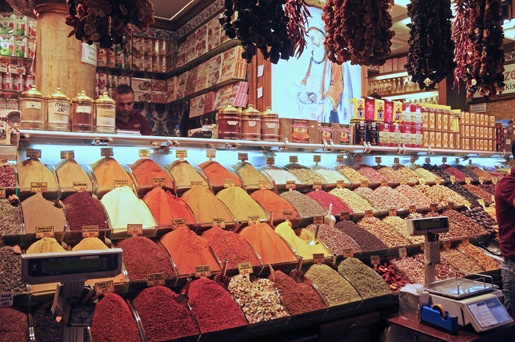 Istanbul spices market