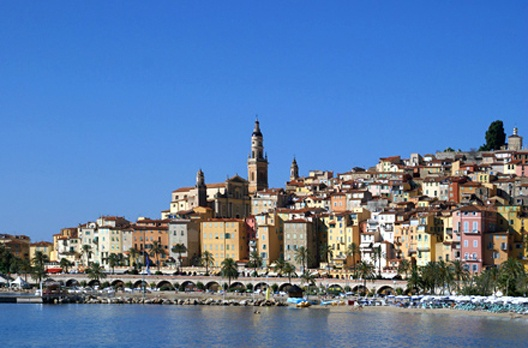 The lovely city of Menton