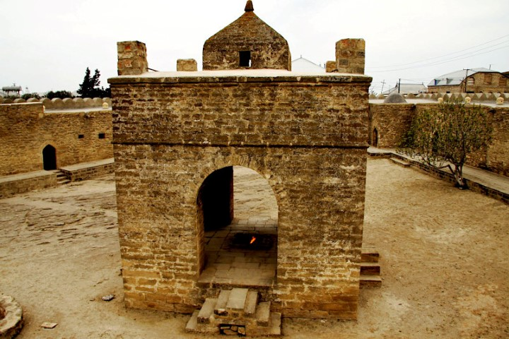 The Fire Temple near Baku Azerbaijan