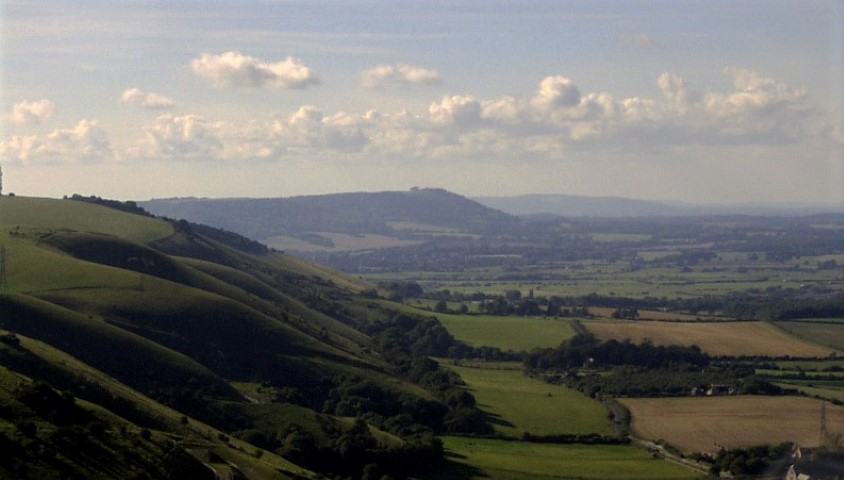 Area around Devils Dyke South Downs