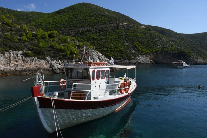 Are you ready for a little cruise along the coasts of Zakynthos Island