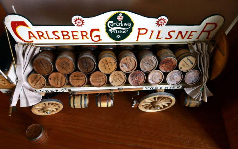 Overview of a Calsberg Pilsner Wagon
