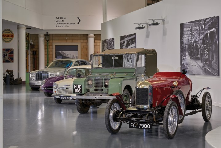 Pic British Motor Museum welcome gallery