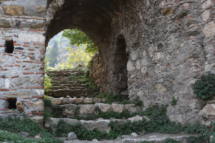 Mystra a magnificent world of stairs and ruins