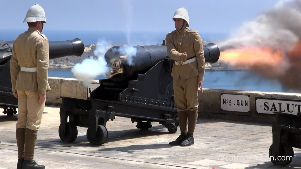 MalDia Daily reanactments from the Saluting Battery