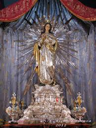 MalDia 06 (17-12-14) The venerated statue of the Immaculate Conception at Cospicua