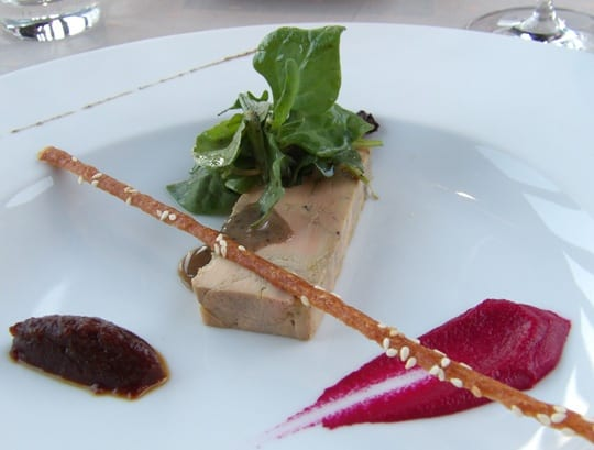 Home made foie gras by Michel Truchon at Senechal