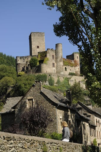 Belcastel village and castle