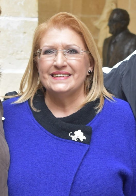 MalDia Outgoing President Marie Louise Coleiro Preca Will be well remembered for continual charitable work to make the community totally inclusive