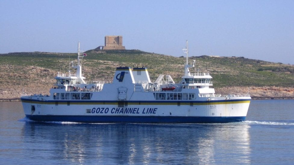 MalDia The current communication link between Malta and Gozo the Gozo Channel ferry service
