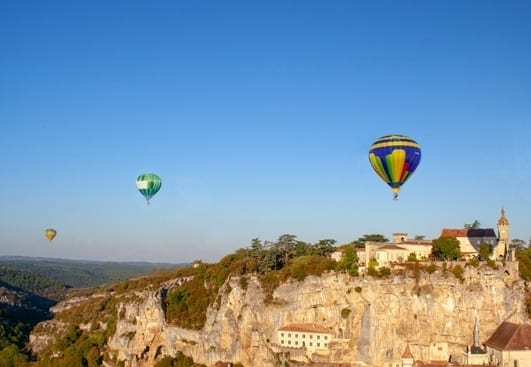 Rocamadour ballons international festival