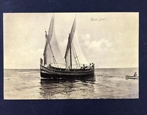 MalDia The sail powered luzzu used for transport between Malta and Gozo