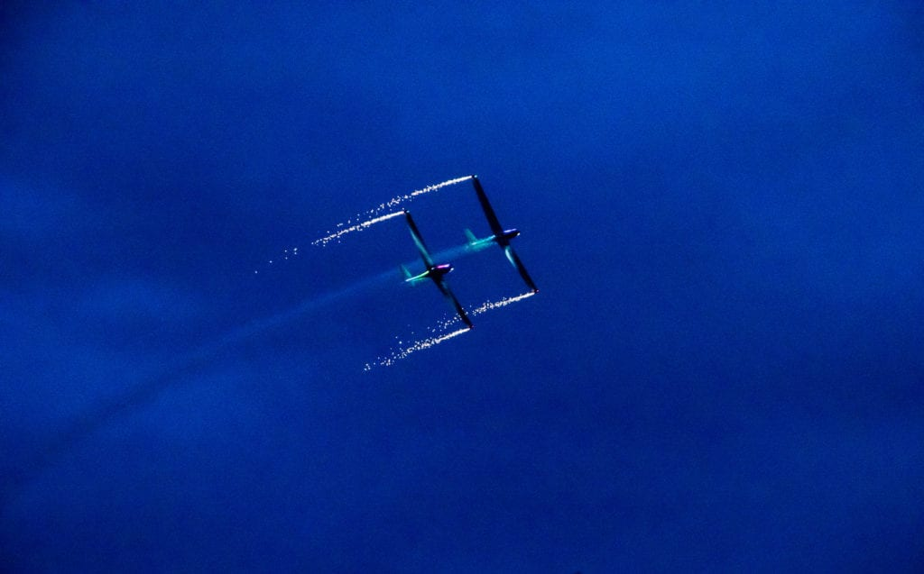 Pic Spectacular flight pyrotecnic display