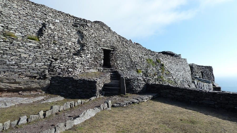 Skellig Michael Wall path and gate