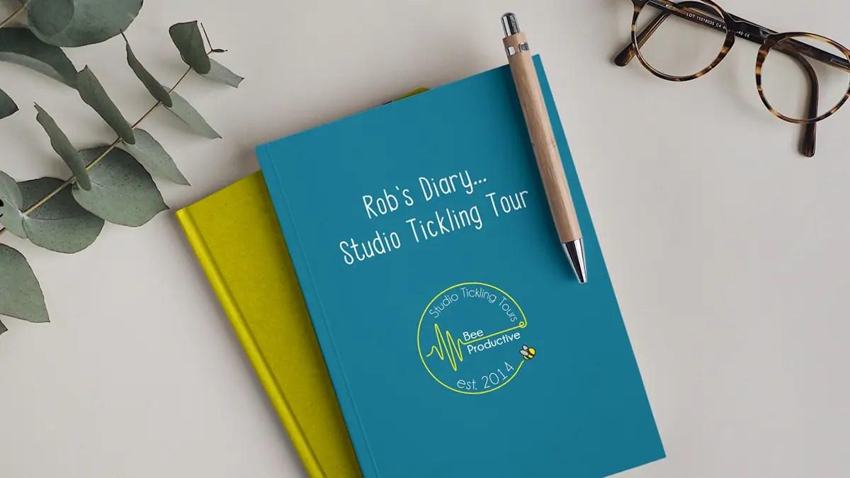Diary of Rob Bee's Studio Tickling Tour.