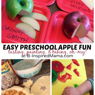 Apple Fun: Tasting, Painting, & Baking!