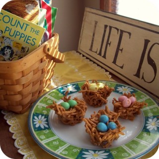 Easy Butterscotch Nest Candy Easter Recipe