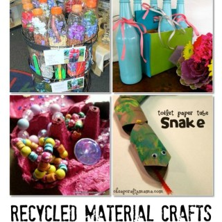 Kids Co-Op: Recycled Material Crafts