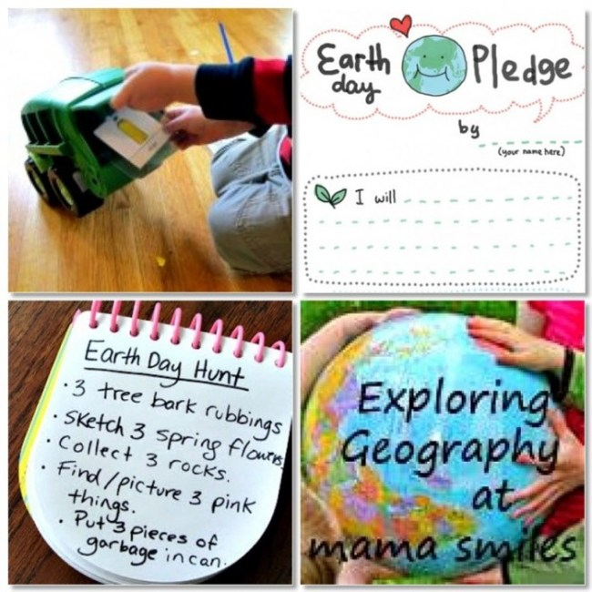 25 Earth Day Activities for Kids at B-InspiredMama.com