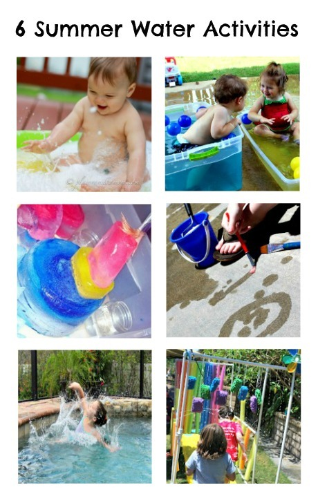 6 Summer Water Activities from The Kids Co-Op