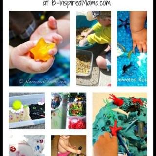 8 Sensory Activities from The Kids Co-Op