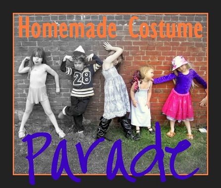 Handmade Halloween Costume Parade