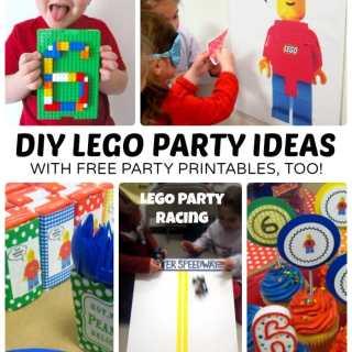LEGO Birthday Party Ideas + Free LEGO Printables