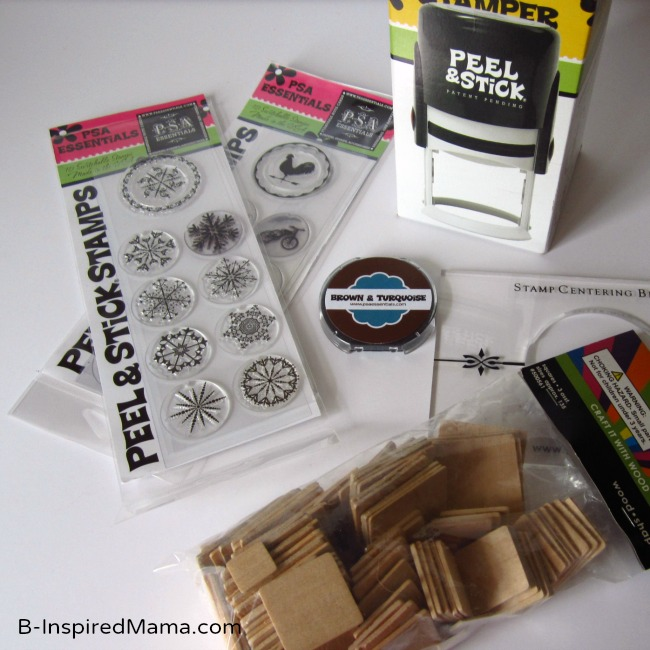 Supplies to Make a Puzzle with PSA Essentials at B-InspiredMama.com