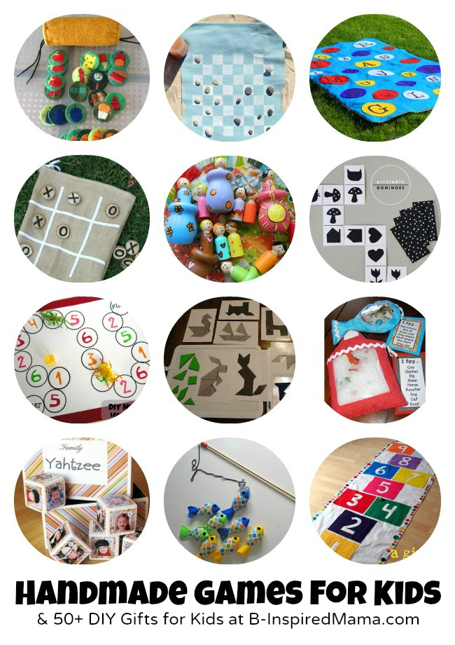 Do it yourself gifts to make for kids 55 handmade toys games to make for kids 50 more diy gifts at b inspiredmama solutioingenieria Image collections