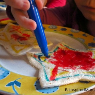 Star Quesadillas for Kids