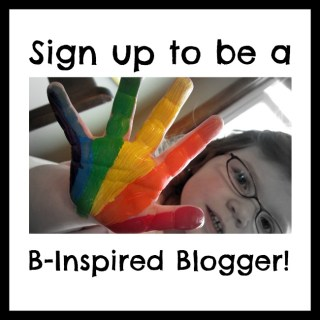 Become a B-Inspired Blogger