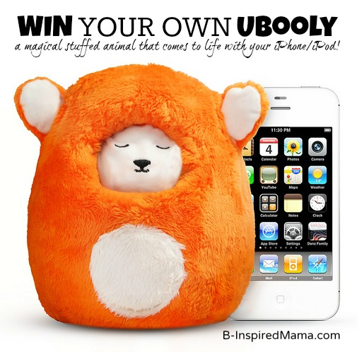 WIN an Ubooly Interactive Kids Toy and App at B-InspiredMama.com