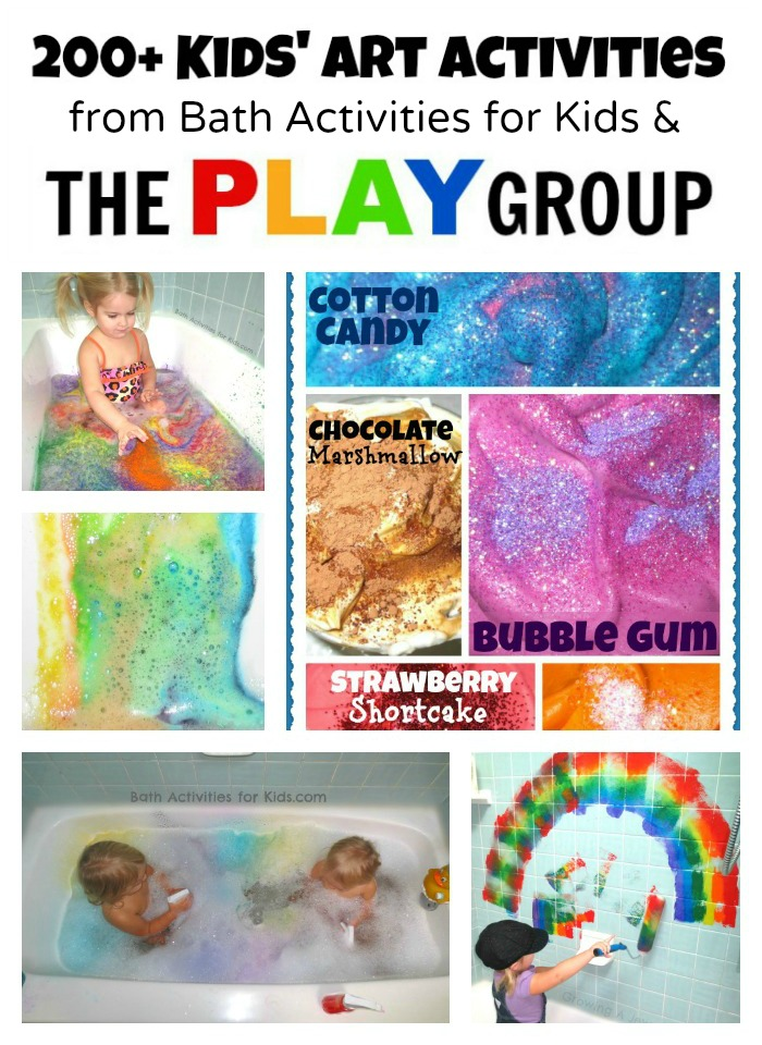 200 art activities for kids from the play group. Black Bedroom Furniture Sets. Home Design Ideas