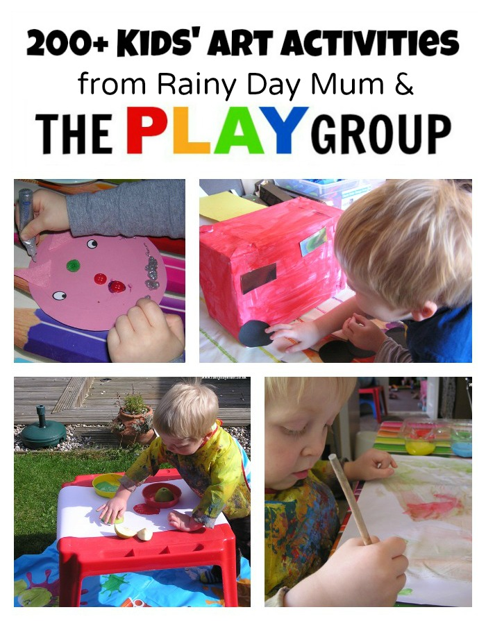 Art Activities from Rainy Day Mum at The PLAY Group