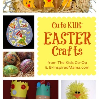 Kids Easter Crafts from The Kids Co-Op